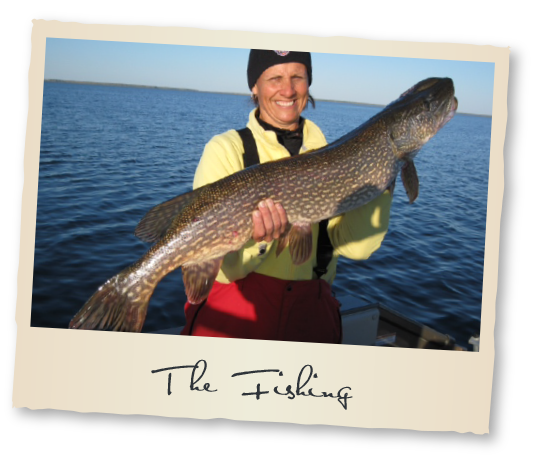 The Fishing at Tobin Lake Fishing Vacation Rentals Nipawin Regional Park Saskatchewan Canada